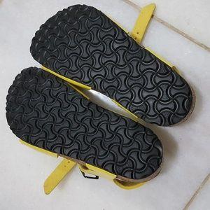 dc9072b59f1 Birkenstock Shoes - 🍒NWOT Yellow BirkenStock sandals 27